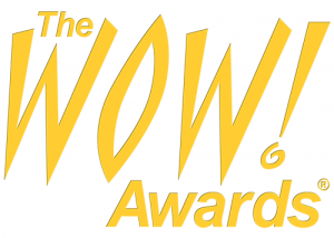 The Worklife Company The WOW! Awards brand identity
